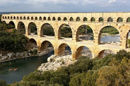 Le pont du Gard Villa la Baume